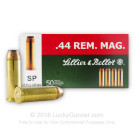 44 Mag - 240 Grain SP - Sellier & Bellot - 50 Rounds