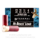 "12 ga - 2-3/4"" Lead Shot Game Load - 1 1/4 oz - #4 - Federal Game-Shok - 250 Rounds"