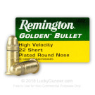 22 Short - 29 gr CPRN- Remington High Velocity - 50 Rounds