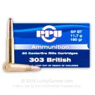 303 British - 180 Grain SPBT - Prvi Partizan - 20 Rounds