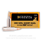 300 WSM - 165 Grain Nosler Partition - Federal Vital-Shok - 20 Rounds