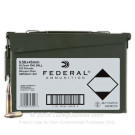 5.56x45 - 55 gr FMJ-BT XM193 - Stripper Clips in Ammo Can - Federal - 420 Rounds