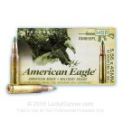 5.56x45mm - 62 Grain FMJ - Federal American Eagle - 500 Rounds