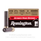 "410 Bore - 2-1/2"" 000 Buckshot - Remington Ultimate Home Defense - 150 Rounds"