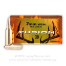 7mm Win Short Mag - 150 gr Fusion - Federal Fusion - 20 Rounds
