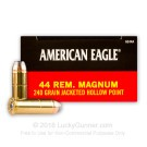 44 Mag - 240 Grain JHP - Federal American Eagle - 1000 Rounds