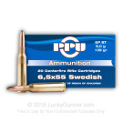 6.5x55mm Swedish - 139 gr SP - Prvi Partizan - 20 Rounds