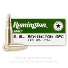 6.8 Remington SPC  - 115 Grain MC - Remington UMC - 20 Rounds