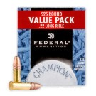 22 LR - 36 gr CPHP - Federal Champion - 525 Rounds