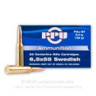 6.5x55mm Swedish - 139 gr FMJ - Prvi Partizan - 20 Rounds