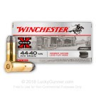 44-40 WCF 225 Grain Winchester Cowboy Lead Flat Nose - 50 Rounds