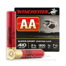 "410 Gauge - 2-1/2"" #7-1/2 Shot - Winchester AA Sporting Clays - 25 Rounds"