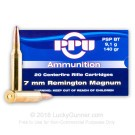 7mm Remington Magnum - 140 gr PSP - Prvi Partizan - 20 Rounds