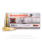 300 WSM - 150 Grain Power-Core PHP Lead Free - Winchester Super-X - 20 Rounds