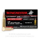 17 Win Super Mag (WSM) - 25 gr Polymer Tip - Winchester Varmint HE - 50 Rounds