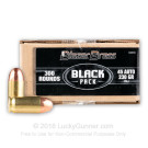 45 ACP - 230 Grain FMJ - Blazer Brass BLACK - 300 Rounds