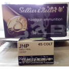45 Long Colt - 230 Grain JHP - Sellier & Bellot - 600 Rounds