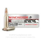 7mm-08 Rem - 140 Grain Power Point - Winchester Super-X - 20 Rounds