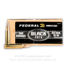 223 Rem - 55 Grain FMJBT - Federal American Eagle BLACK - 300 Rounds