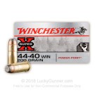 44-40 WCF - 200 Grain SP - Winchester Super-X - 50 Rounds