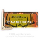 30-30 - 150 gr Fusion - Federal Fusion - 200 Rounds