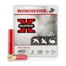 "410 Bore - 3"" 11/16 oz. #7-1/2 - Winchester Super-X High Brass - 25 Rounds"