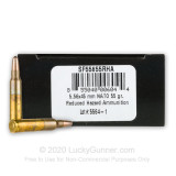 Image of Premium 5.56x45 Ammo For Sale - 55 Grain Frangible Ammunition in Stock by SinterFire - 250 Rounds