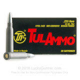 Image of Cheap Tula 223 Rem Ammo For Sale - 55 grain FMJ Ammunition In Stock