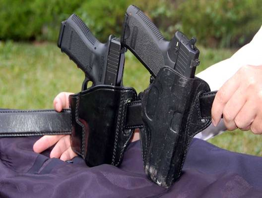 Concealed Carry - Paddle Holsters & Behind The Back Holsters