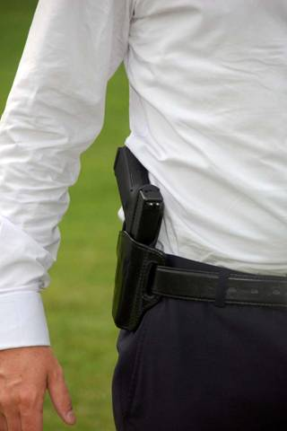 How To Carry A Concealed Hip Holster