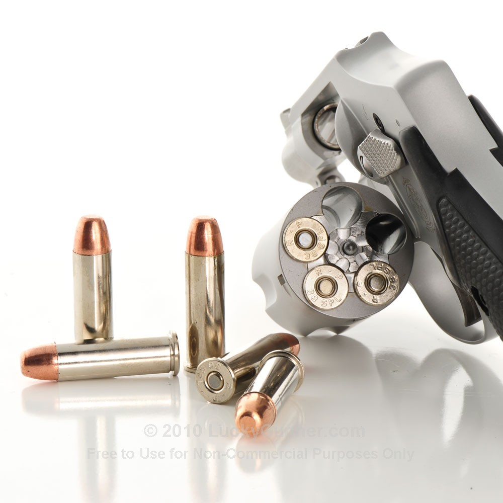 Remington Nickel Plated 38 Special Ammo Revolver