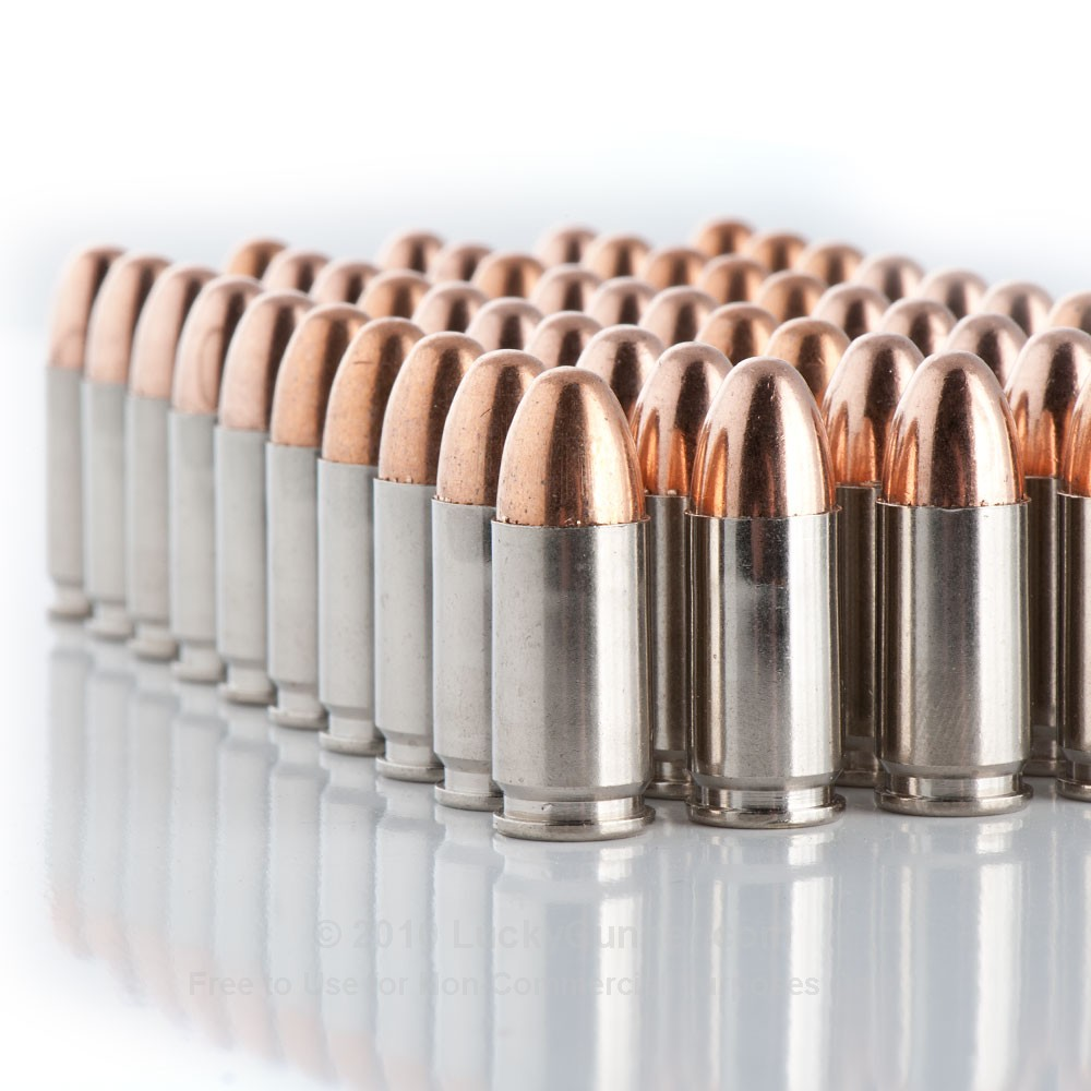 Remington Nickel Plated 9mm Ammo